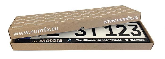 Kennzeichenhalter kostenlose Musterbox