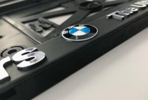 BMW Kennzeichenhalter
