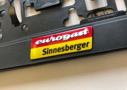Kennzeichenverstärker personalisiert